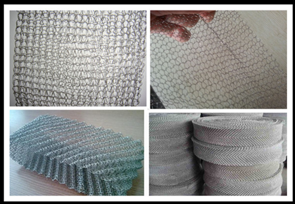 Factory demister used fiilter mesh 40mm to 914mm width liquid and gas filtering screen copper,SUS,Monel knitted wire mesh