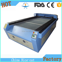 Nice-Cut NC-C1325 laser cloth cutting machine/cnc cloth textile fabric cutting machine