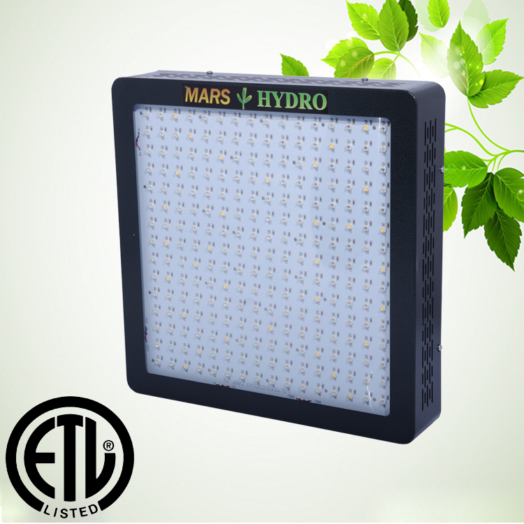 MARSII-1200 240 Pieces 5 Watt LED Grow Light Full Spectrum Upgraded with Growth/Bloom Switches for Hydroponcs Ture Power 600W