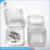 Clear Plastic Membrane Denture Storage Box With Lid