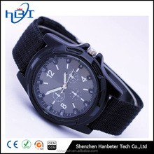 Hotsale mens military watch nylon japan movement army watch
