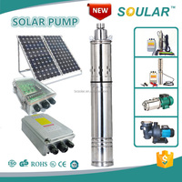 Solar Powered Borehole Pump for Deep Well