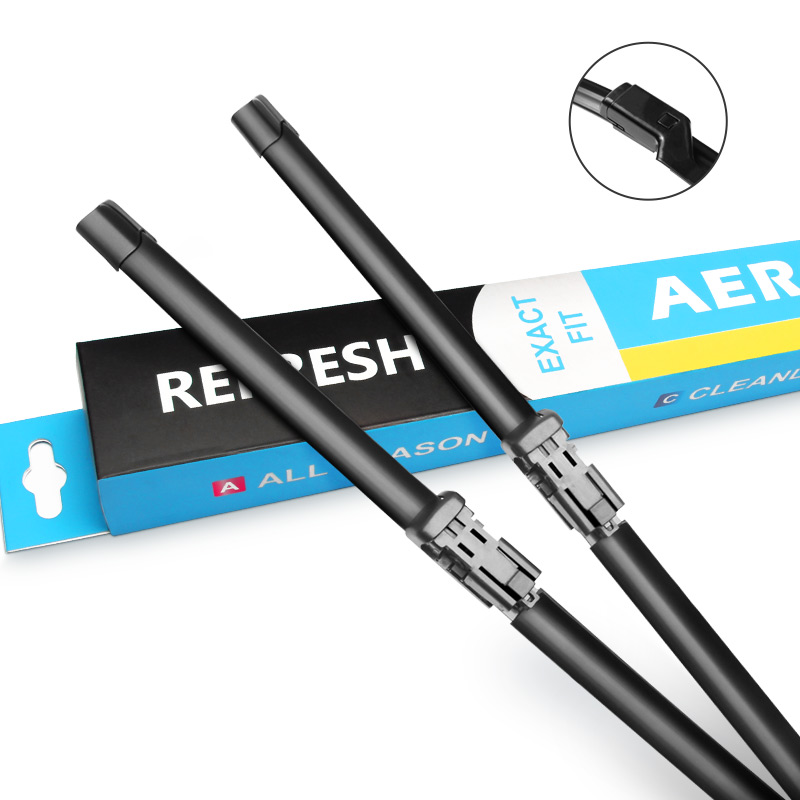 Front Windshield Wiper Blades for Opel / Vauxhall Astra <strong>J</strong> Fit <strong>21</strong> mm Push Button Model Year From 2009 - 2015