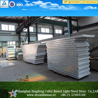 Metal Panel Material polystyrene/Roof EPS Sandwich Panel/wall panel