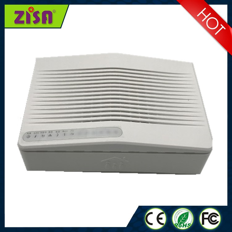 Zisa OP153-C GPON ONU optical network unit apply to FTTH FTTO modems, 2 LAN ports+1phone port, white colour