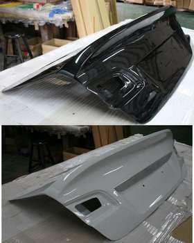 Trunk for BMW E90 CSL style Trunk (painted)