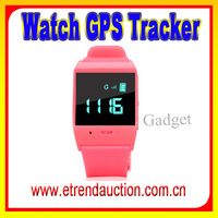 Mini portable GPS Watch Mobile Phone Watch human GPS Tracking Device Kids Watch Phone GPS
