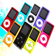 Slim 1.8''/2.2'' 8GB 16GB Digital MP3 MP4 Player