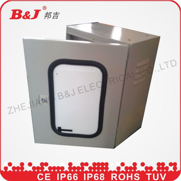 size of distribution board/sheet metal box/electrical panel box/ip66 enclosure with glass window