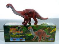 kid animal toy dino world Roaring Walking long Necked dinosaur with light