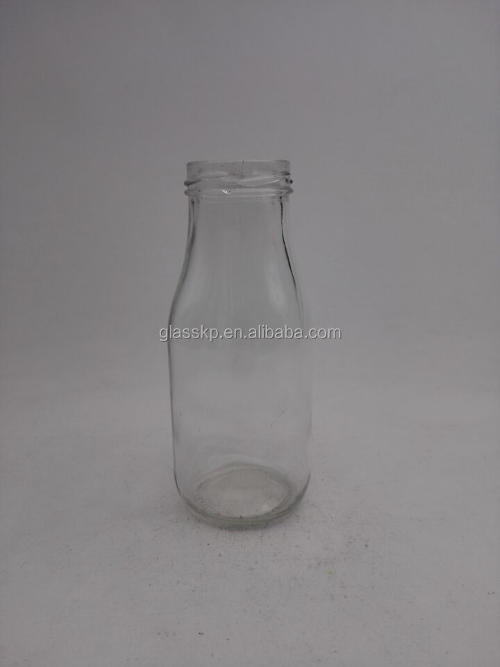 Flint 250ML Milk glass bottle