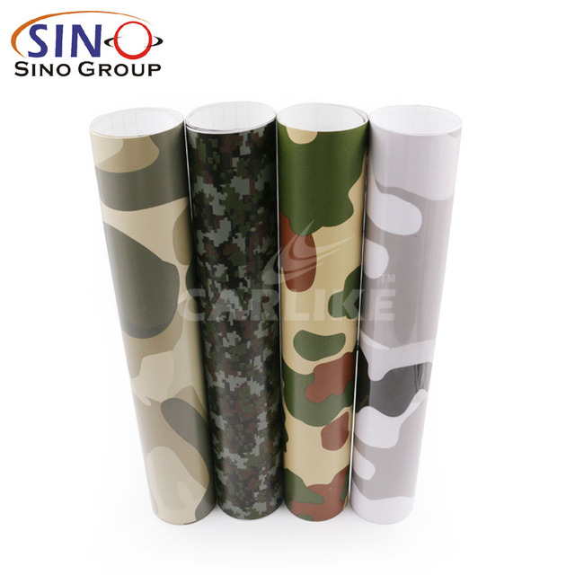 CARLIKE Quick Delivery Camouflage Car Wrap Camo Wrap Vinyl
