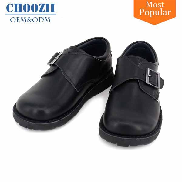 Guangzhou Fitkids Brand Former Buckle Power Warrior School Shoes for Kids Boys