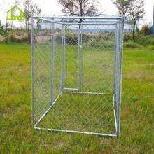 Cheap Large Outdoor Galvanized Chain Link Dog Kennel