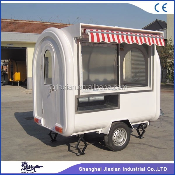 Shanghai JX-FR220H New Model Hand Cart/Donut Food Trailer/Mini Food Truck