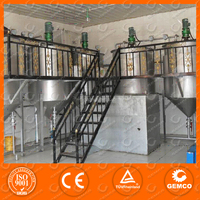 CE Certificated small scale palm oil refining machinery