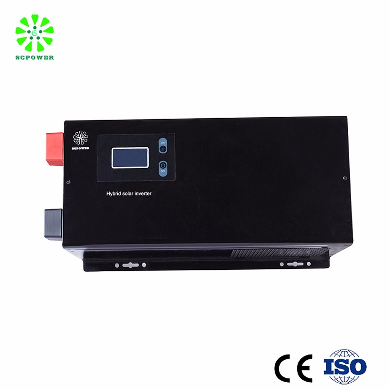 high quality low frequency off grid pure sine wave 48V/96V 220V 50/60HZ 10 kw inverter with battery charger