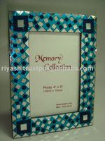 Glass Tiles ftd. Handmade Wooden Photo Frame