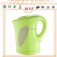 Mini Cordless Automatic travel Electric Kettle, 1.5-Liter, Green