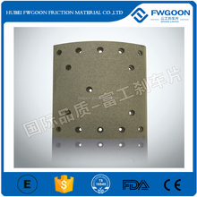 Asbestos Free Drum Bus/Truck friction Linings brake liner for dongfeng truck hot sale