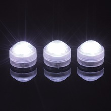 Christmas Decorations RGB Submersible Candle Light Waterproof LED Tea Lights