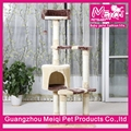 fashion pet products cat tree house wholesale indoor cat scratching condo