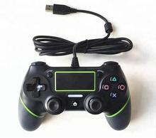 For PS4 Controller Wired Gamepad For Playstation 4 Dualshock 4 Joystick Gamepads Multiple Vibration 6 Axies For PS4 Console