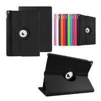 360 Degree Rotating Stand Flip PU Leather Smart Tablet Cover Case For iPad Pro 9.7