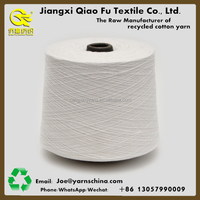 Manufacturer recycled cotton blended polyester yarn for weaving working gloves,Exported to Russia,Nm14s/1