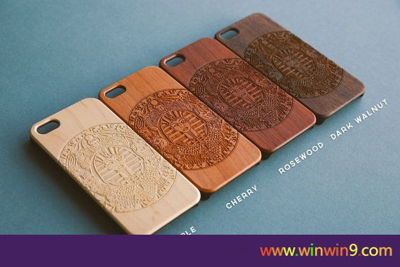 2016 Original Laser engraved custom customized wood phone case for iphone 6 plus