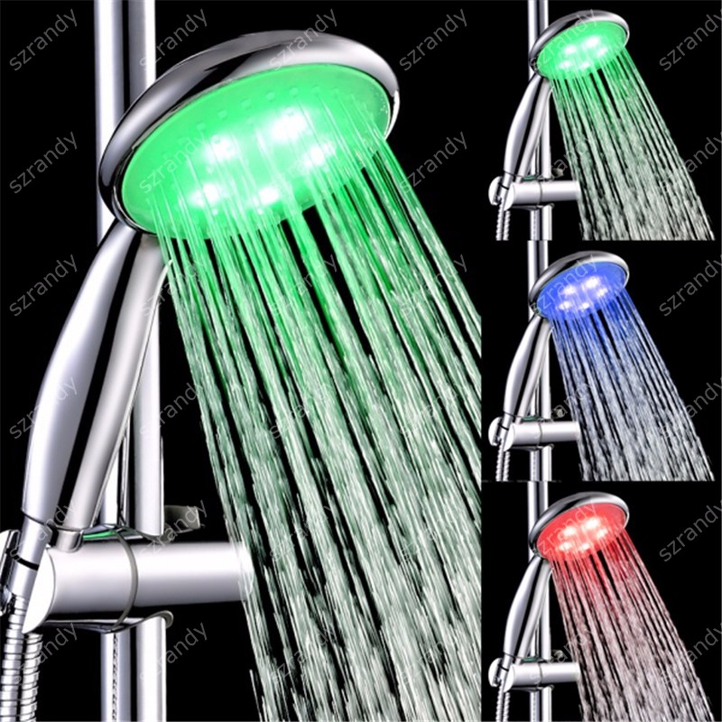 temperature sensor 3 colors shower bath LD8008-A24