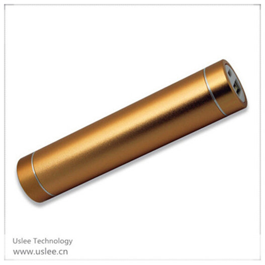 2014 new items mobile charger 2600mah lipstick battery charger power bank 2600mah for promotion