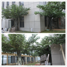 high quality artificial tree landscape fake banyan tree for outdoor decoration