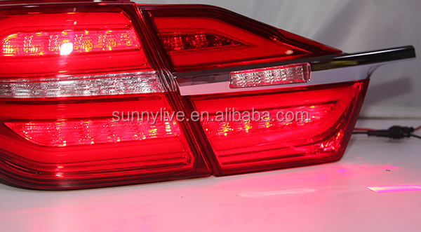 2015 year FOR TOYOTA Camry LED Rear Light Red Color Laser Fog Lamp BW