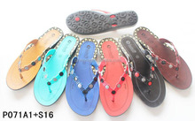 2017 summer heat point-of-sale drill hasp fashion comfort women indoor outdoor room slippers w89