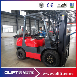 High quality 3 ton LPG Forklift with CE
