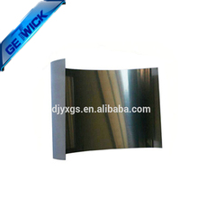 Cold rolled 99.95% w1 tungsten foils in high temperature furnace