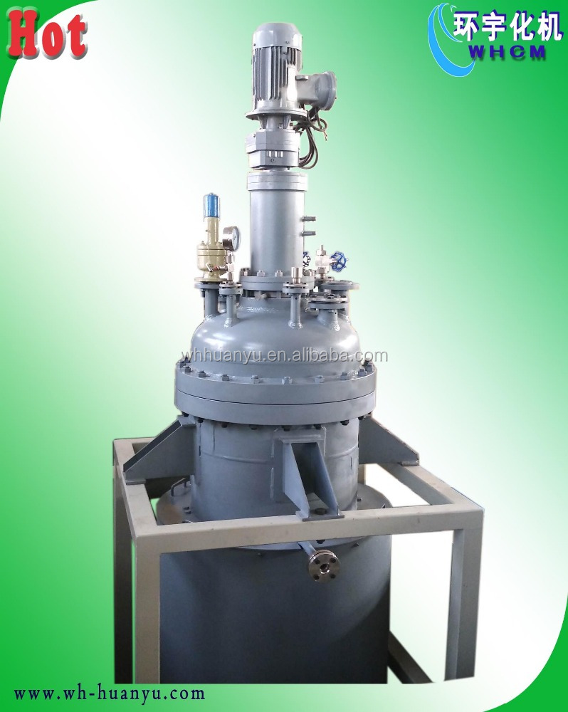 Batch jacket stirred reactor tank 10000L