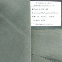 China factory wholesale twill cloth material fabric for lady garment