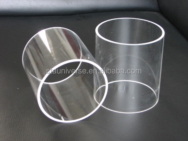 large diameter quartz tube for tube furnace