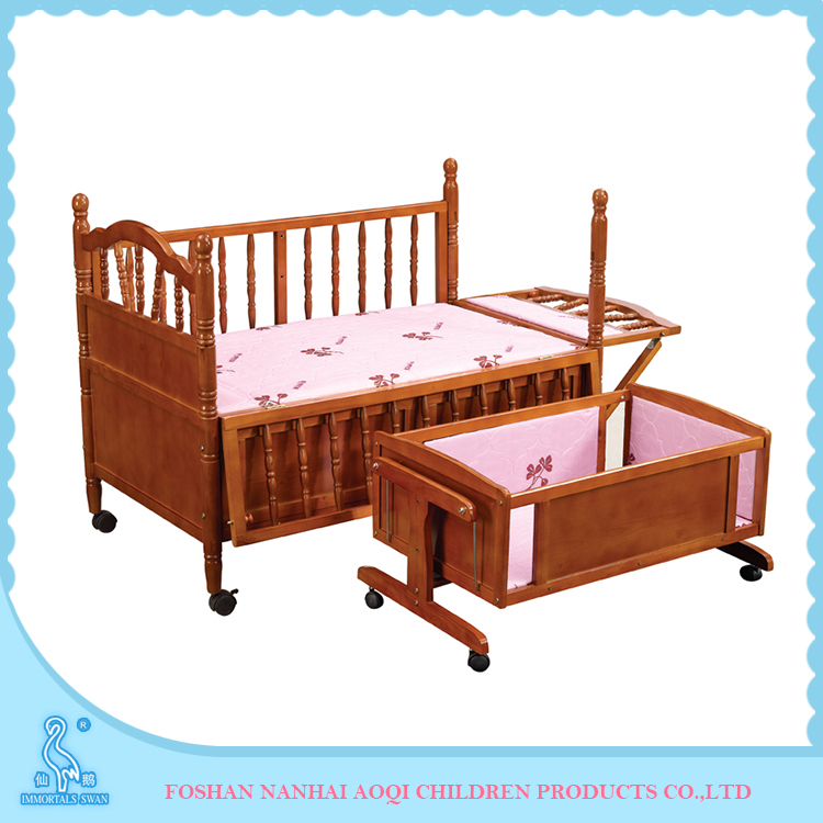 638 Latest Wooden Bed Designs Baby Rocking Bassinets And Cradles