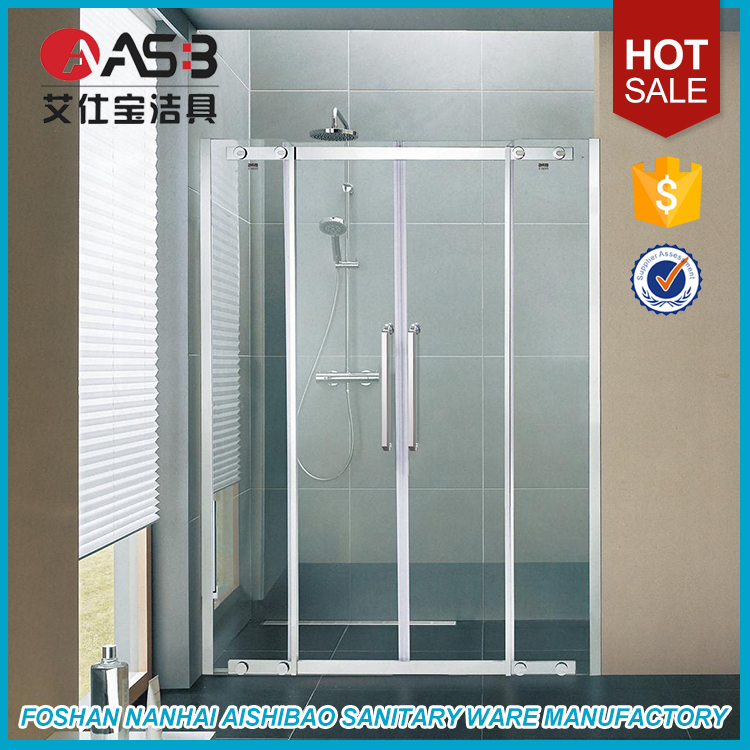 Tempered Glass 1200 X 1000 Shower Screen For Hotel