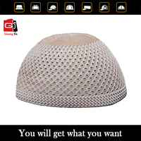 high quality custom knit muslim hat for man wholesale