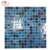 Home decor for bedroom kitchen hot melt glass mosaic swimming pool tiles interior mosaics