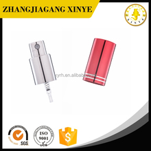 Screw pump perfume sprayer with collar and cap