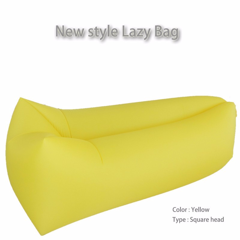 Inflatable Sofa Beds Portable Lazy Sleep Camping Lounger Lazy Bag Sofa