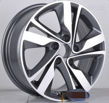 F9781 INTERNATIONAL CERTIFICATE CAR ALLOY WHEEL RIMS 16X6.5 OFFSET 35MM 5 / 114.3 WHEEL
