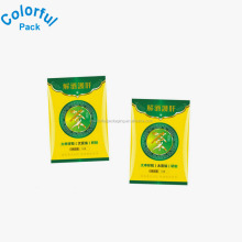 HOT! Empty tea bags wholesale custom printed color resealable tea sachet made in China