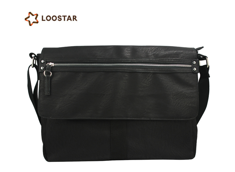 Widely Used Best Prices 2016 New Low Price Messenger Bag PU Men