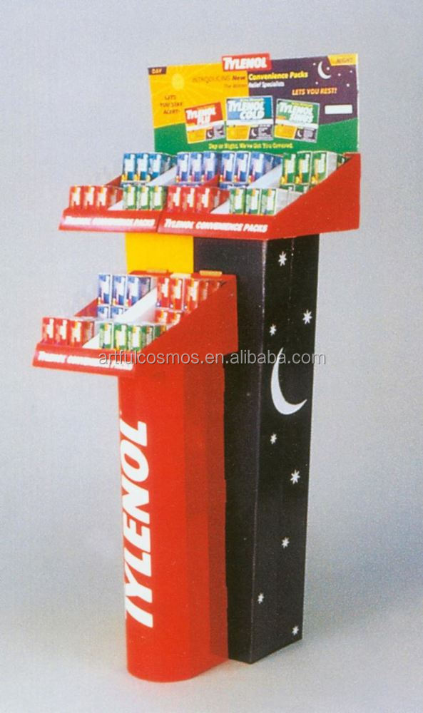 Mobile Accessories Counter Top Display T Bar Metal Jewelry Display Stand